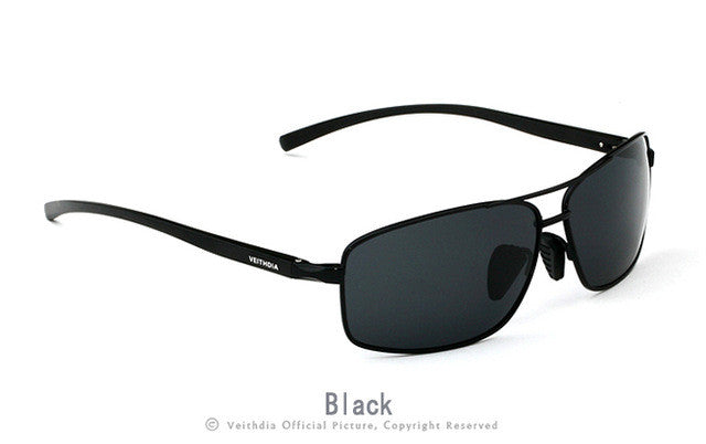 VEITHDIA Aluminum Magnesium Polarized Men's Sunglasses