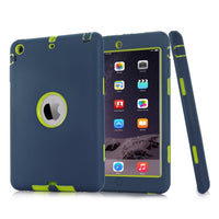 For iPad mini 1/2/3  Armor Shockproof Heavy Duty Silicone Hard Case
