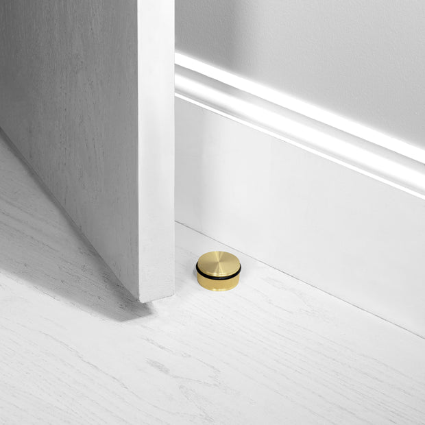 DOOR STOP / FLOOR / BRASS