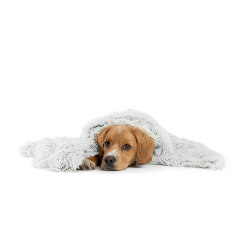 Shag Pet Throw Blanket Frost 30x40