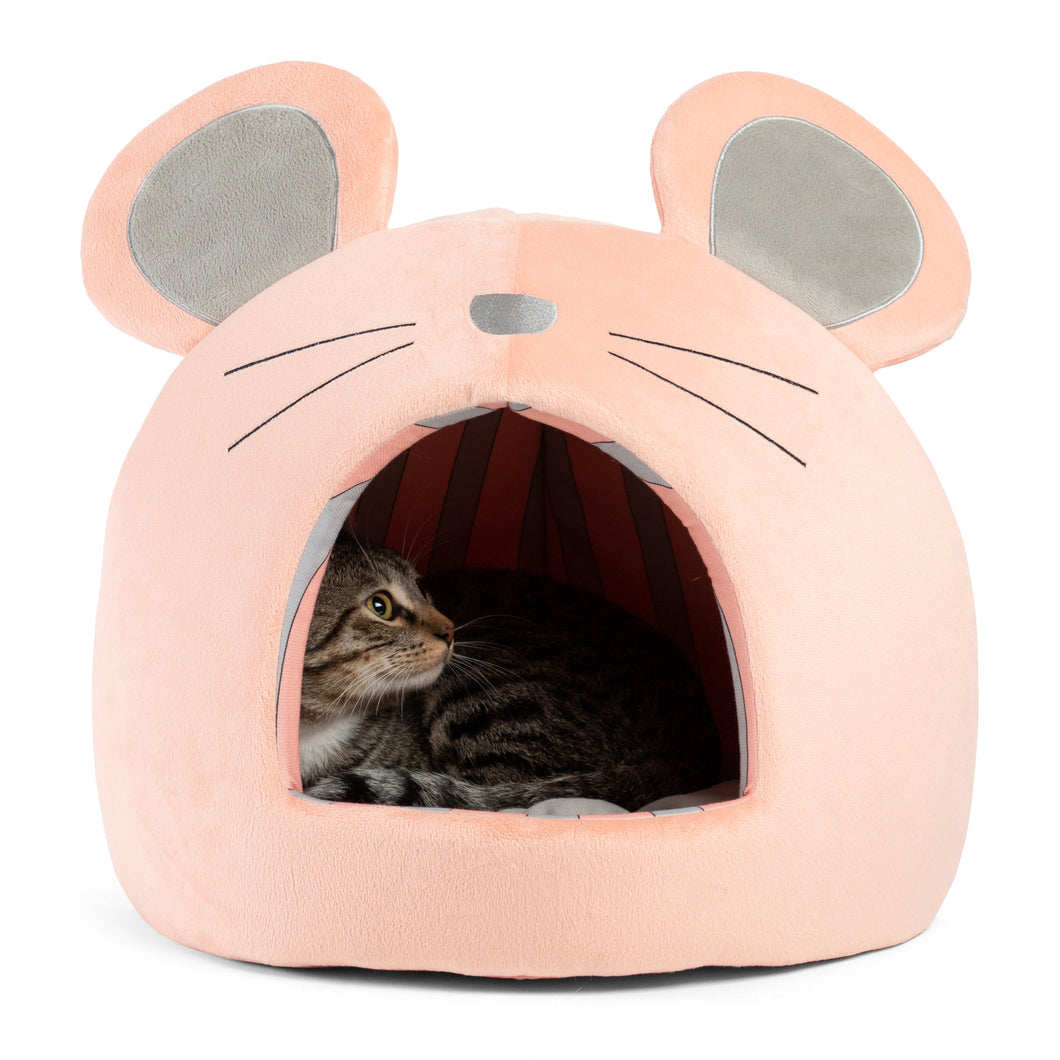 Mouse Novelty Hut Peach
