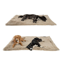 Shag Pet Throw Blanket Taupe 40x50""