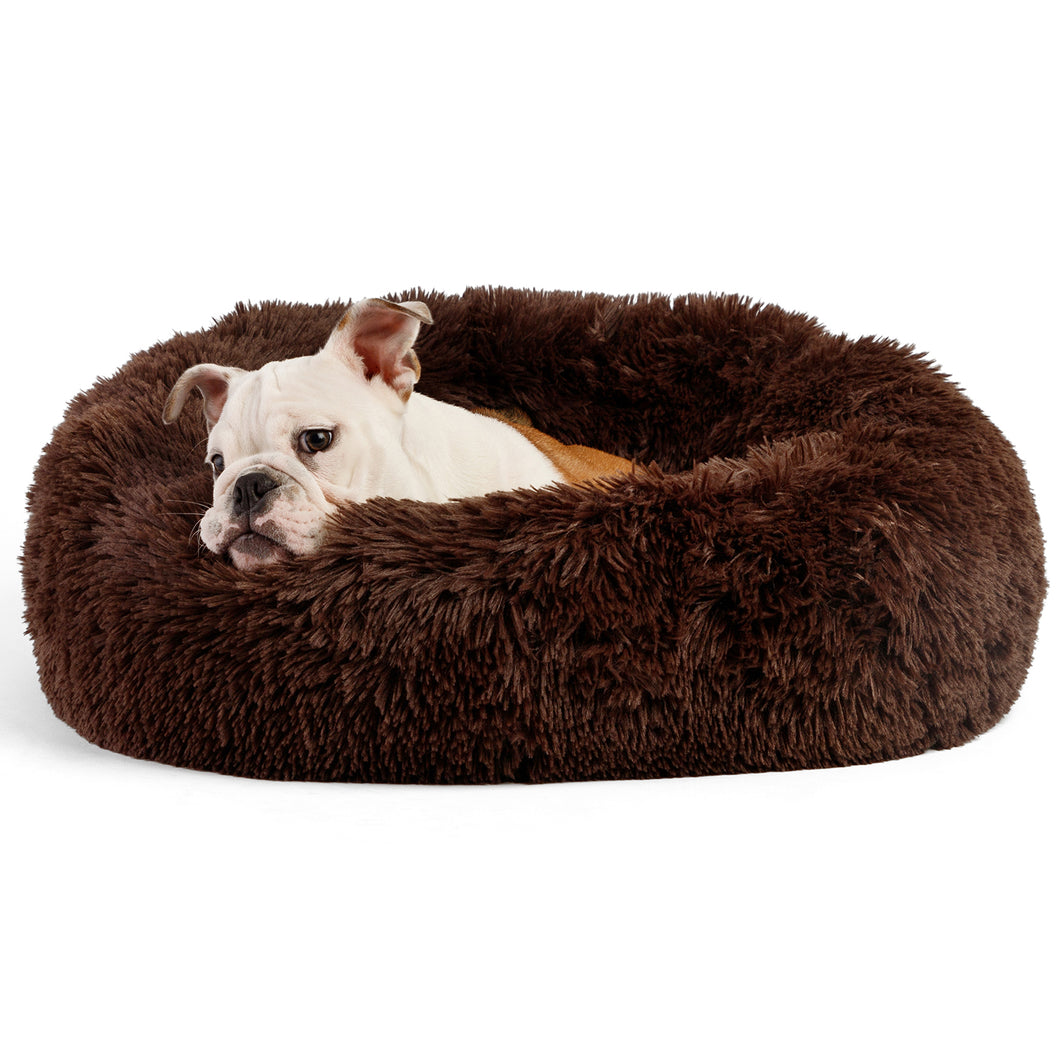 Shag Donut Cuddler Dark Chocolate 30