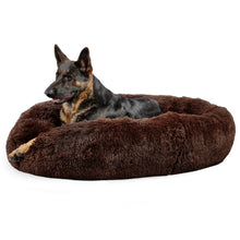 Shag Donut Cuddler Dark Chocolate 45""