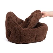 Sherpa OrthoComfort Deep Dish Cuddler Brown Jumbo