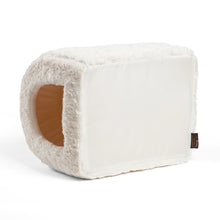Lux Fur Pet Igloo Ivory