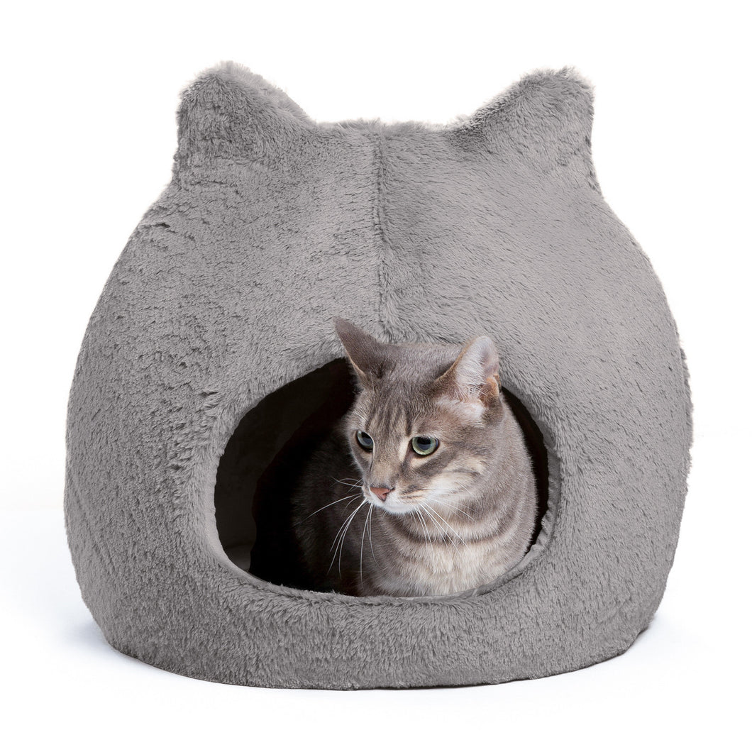 Fur Meow Hut Grey