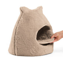 Fur Meow Hut Wheat 18""