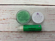 Flavored Lip Scrub and Lip Balm Set