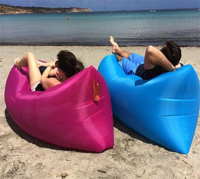 Portable Inflatable Air Lounger Sofa (240cm x 70cm)