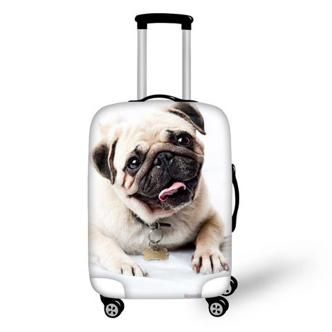 Cute Dog Luggage Cover For 18-30 Inches