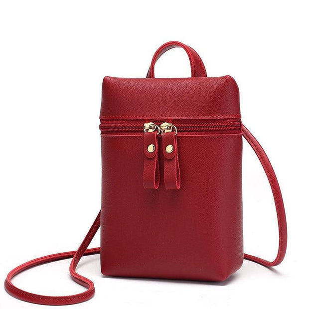 Mini Leather Shoulder Bag