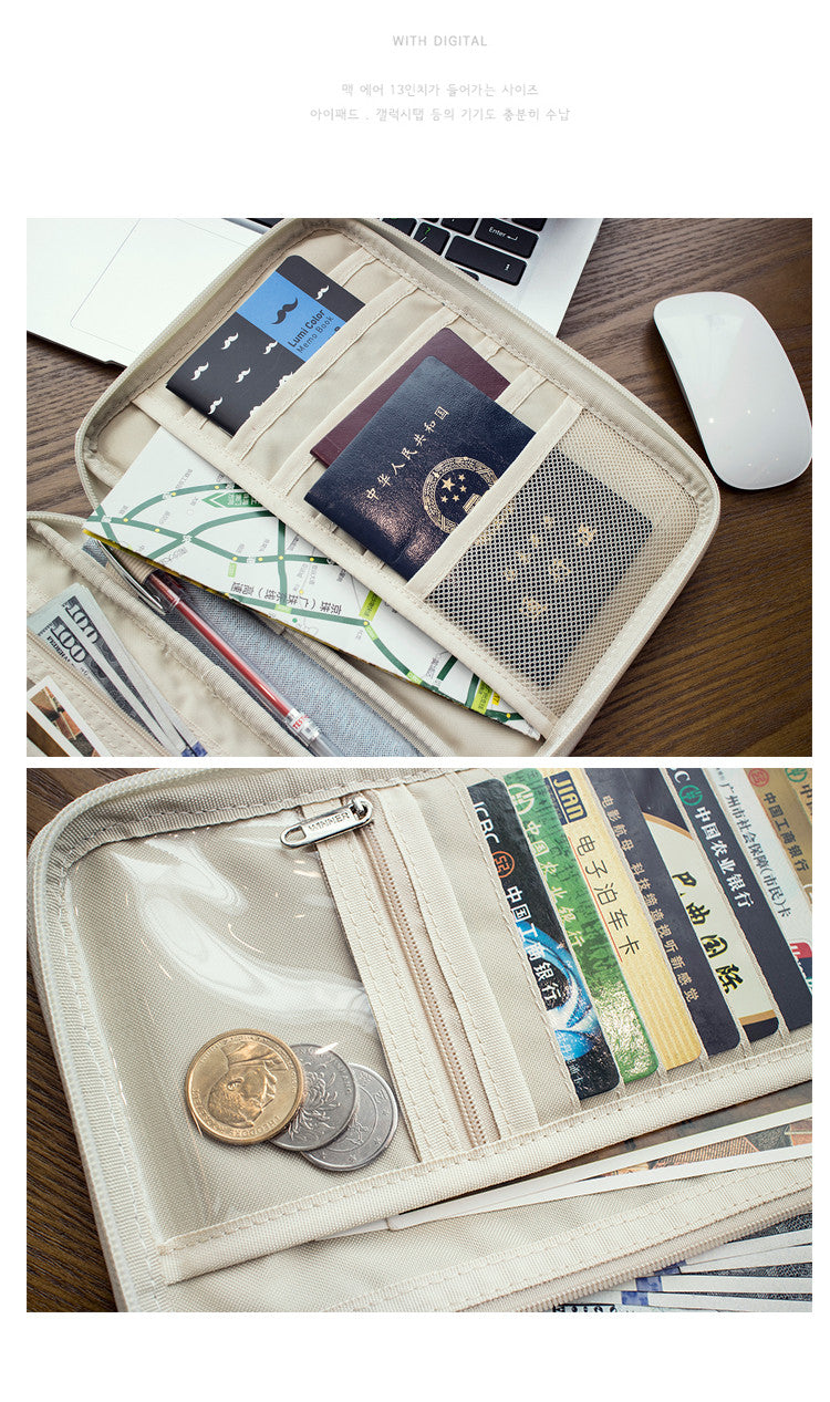 Stylish Travel Passport or Tablet Wallet