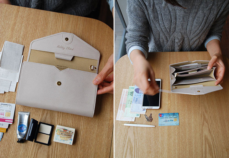Stylish Versatile Travel Wallet