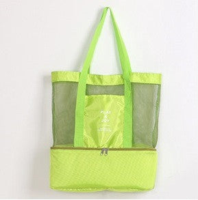 Amazing Beach Lover Tote Bag With Insulated Cooler