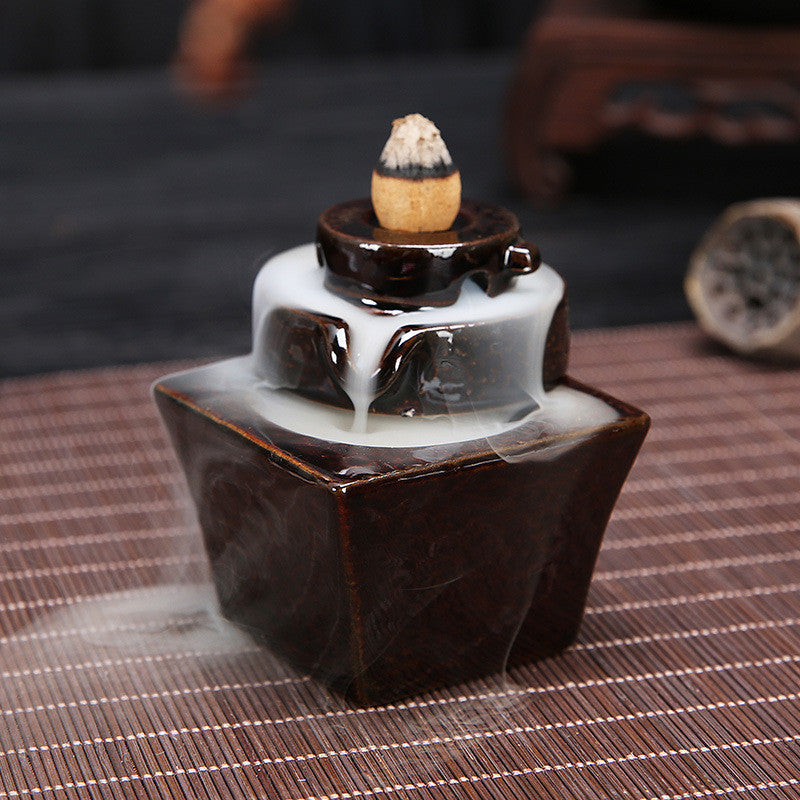 Ceramic Backflow Incense Burners