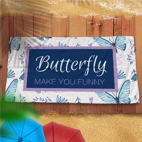 Super Light Microfiber Beach Towel