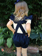 The Fiona Suspender Shorts