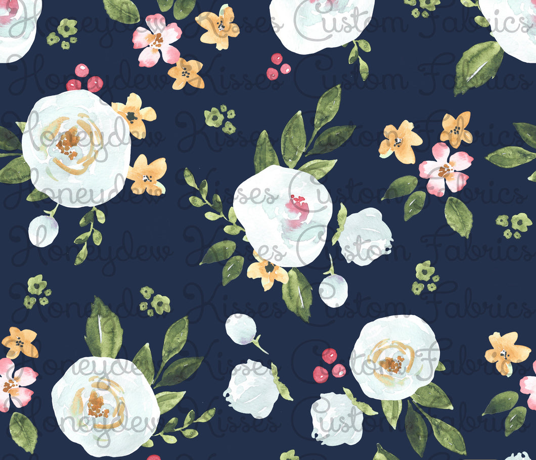 ROUND 14: Amelia Floral - Navy