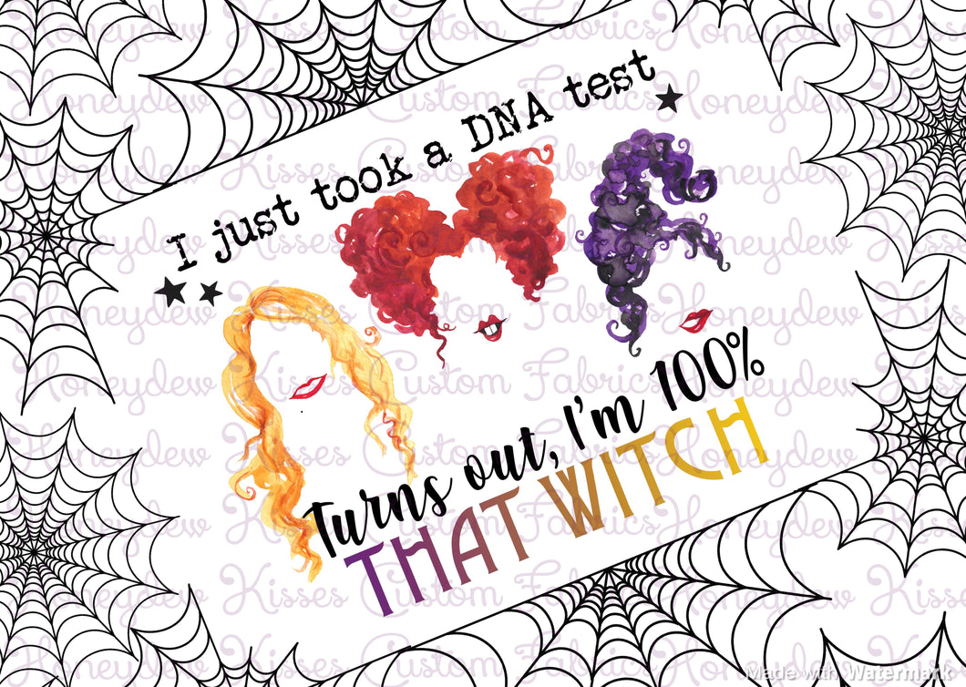 100% Witchy - DNA Panel