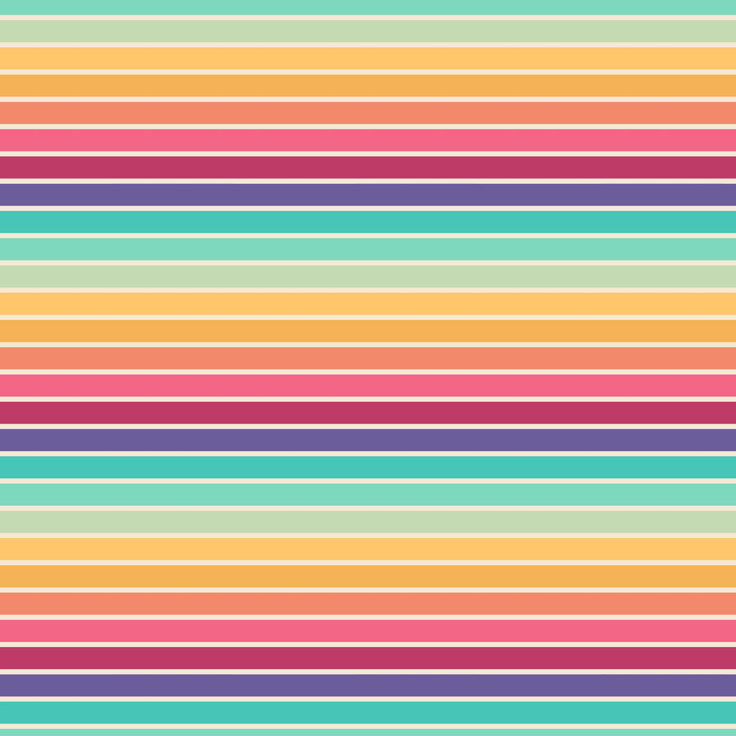 Vintage Rainbows - Stripes