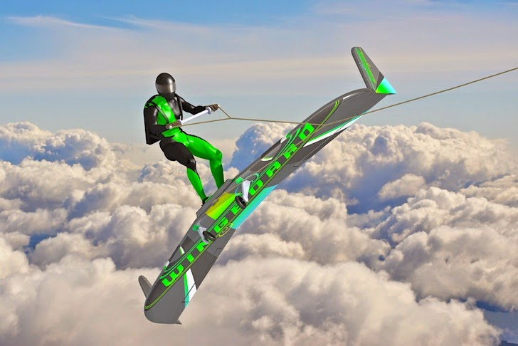 WingBoard takes wakeboarding to the skies