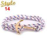 New Fashion Nautical Anchor Bracelet - Surf Sun Sea