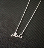 Aloha Necklace - Surf Sun Sea
