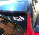 Baby On Board Sticker - Surf Sun Sea