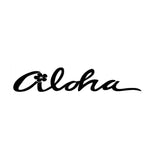 ALOHA Hawaii Sticker - Surf Sun Sea