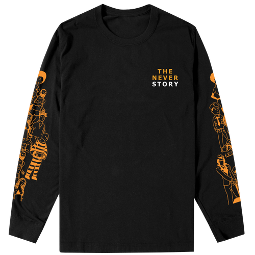 J.I.D TNS Long Sleeve Tee