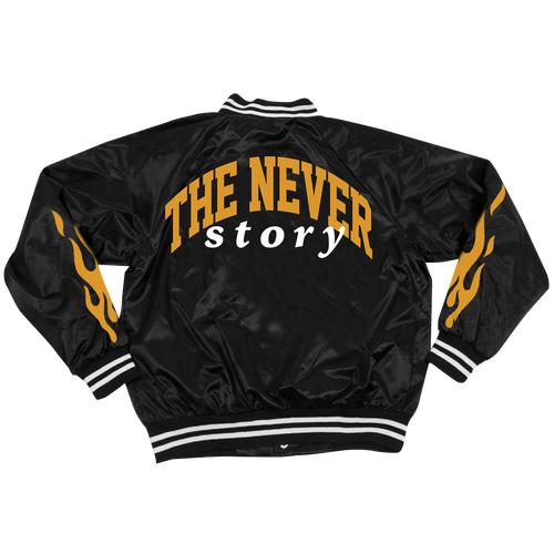 J.I.D The Never Story Baseball Jacket