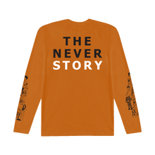 TNS Long Sleeve Tee (Orange)
