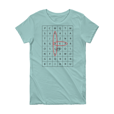 CROSSWORD GIRLS REP SHORT SLEEVE T SHIRT