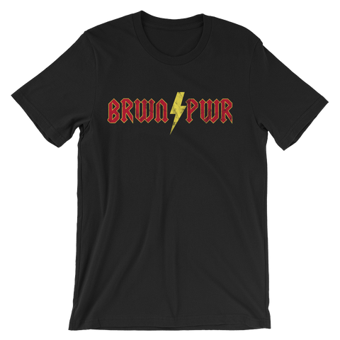 Brown Power! Unisex short sleeve t-shirt