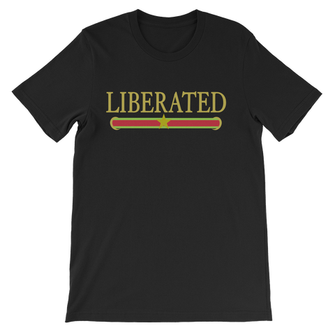 Liberated Unisex short sleeve t-shirt
