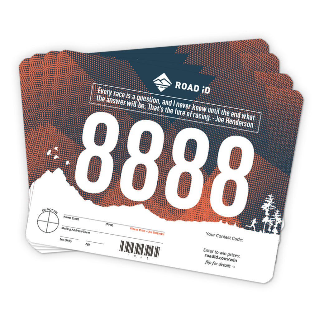 Standard Race Bibs (pack of 100)