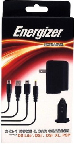 Energizer 492070011053 Universal 2-in-1Home and Car Charger - NDS