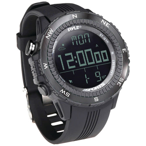 Pyle Pro Digital Multifunction Active Sports Watch (black)