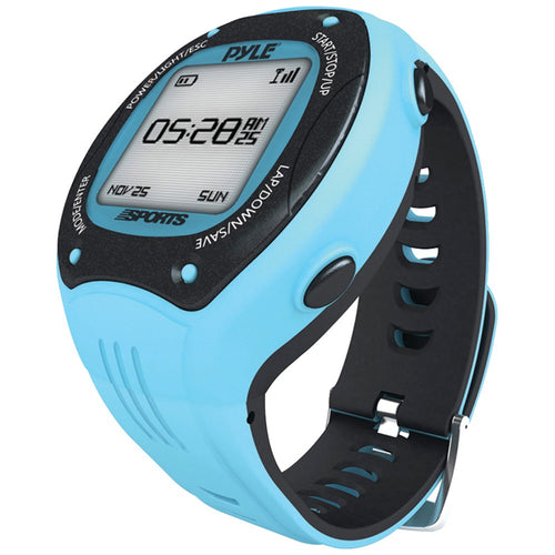 Pyle-sports Multifunction Smart Gps Activity Watch (blue)