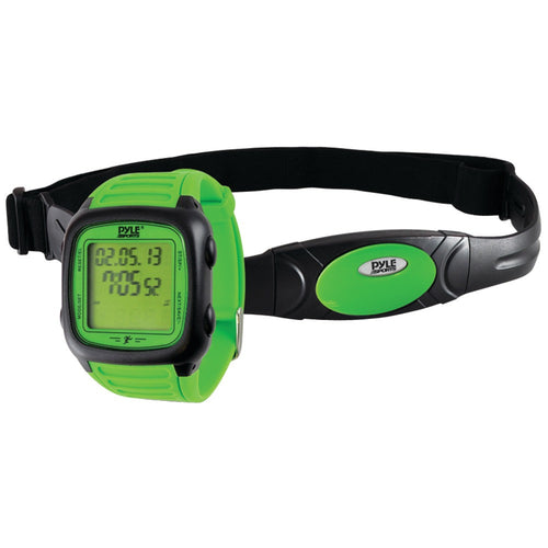 Pyle-sports Multifunction Activity Watch With Heart Rate Monitor (green)