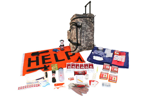 Tornado Emergency Kit in Camo