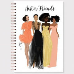 Stationery Writing Book Black Bible Sister Friends Writing Journal Woman - NoveltyGal