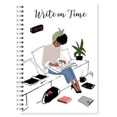 Stationery Writing Book Black Bible Write on Time Women's  Writing Journal - NoveltyGal
