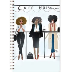 Stationery-writing-book-black-bible-Café Noire Wired-writing-journal-woman - NoveltyGal