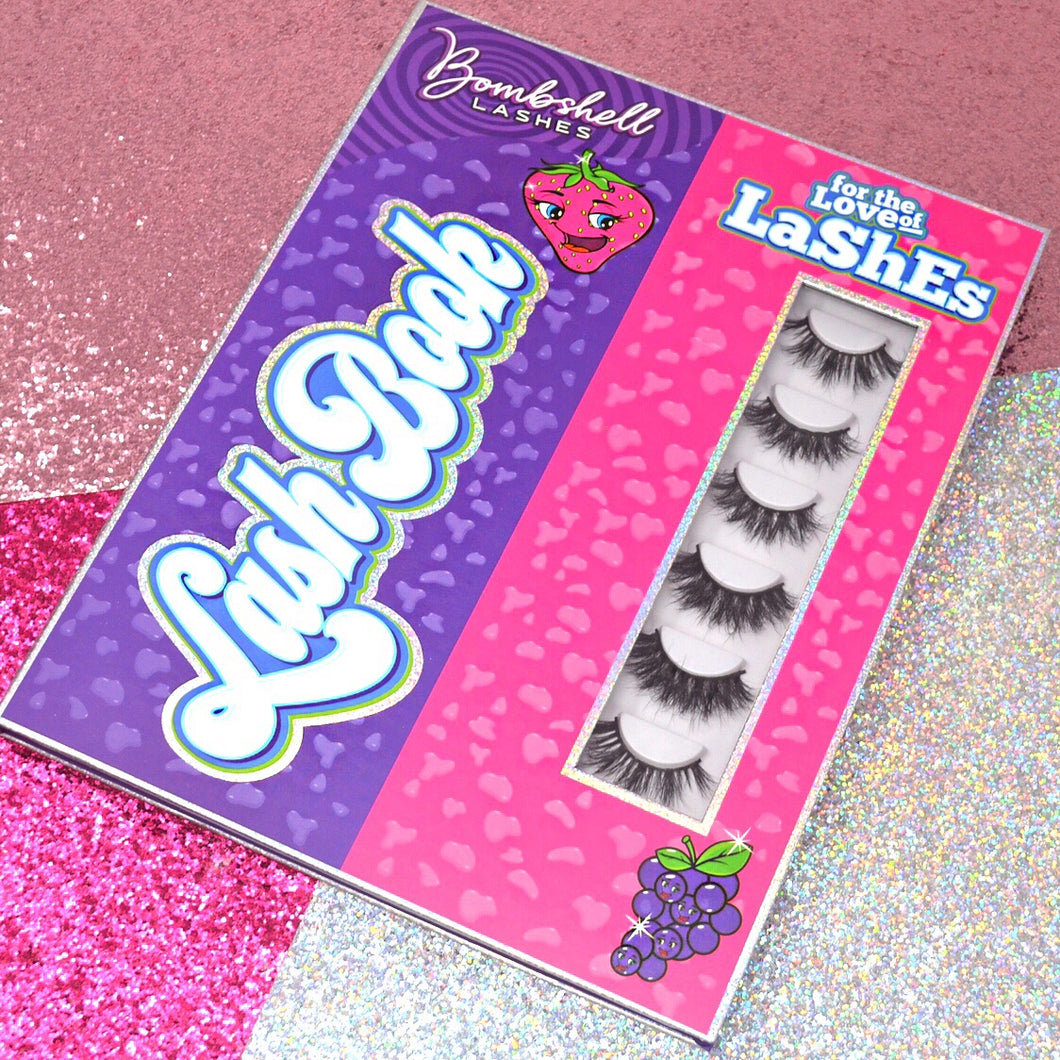 Lash Book (Lashes not included)