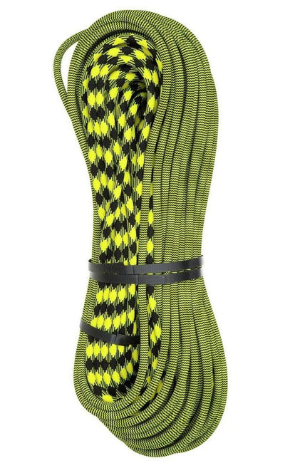 New England Ropes Pinnacle 9.5mm Dynamic Climbing Rope - Bi-Pattern