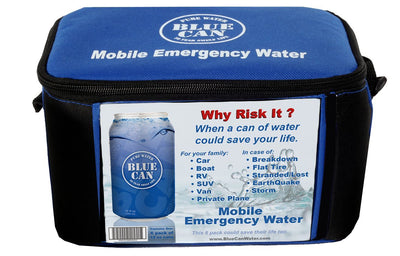 Blue Can Premium Drinking Water H2GoPak - 6 Pack