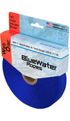 "BlueWater PreCut Tubular Climb-Spec Webbing 1"" x 30ft. - Royal Blue"
