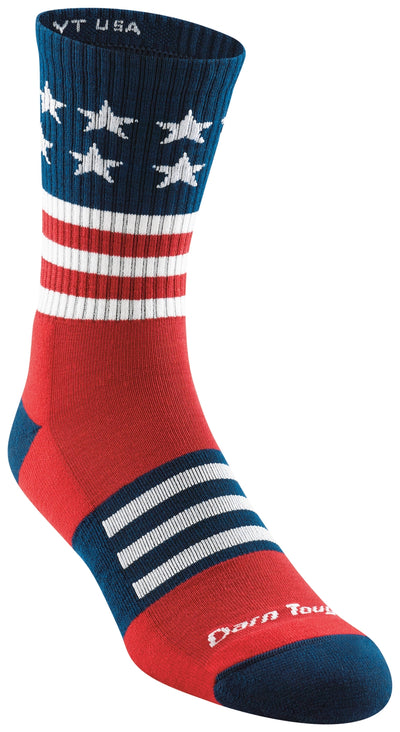 Darn Tough Captain Stripe Micro Crew Lightweight Sock with Cushion - Men's